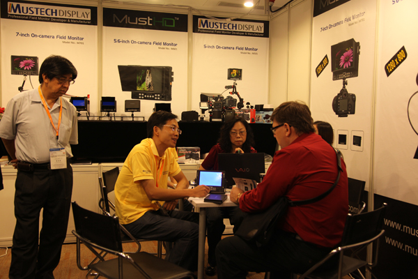 Mustech Display Hong Kong Electronics Fair Report 2